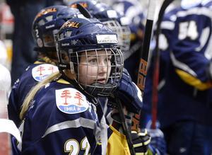 Wildcats back Annie Swedin gjorde två mål mot Linköping.