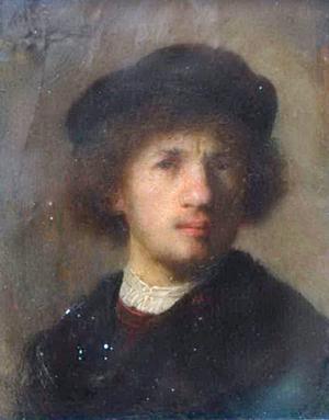 Värdefull. Rembrandttavlan värderas till ungefär 40 miljoner dollar.