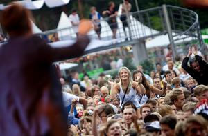 Bild från Putte i Parken i Karlskoga 2010. Festivalen är nu flyttad till Karlstad.