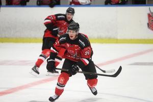 Oscar Bergkvist, ny för säsongen i Hudiksvalls HC.