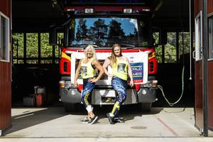 Med långa och tuffa förberedelser i ryggen hoppas Carina Åslund och Caroline Jonsson att de ska kunna göra bra ifrån sig på tävlingen i Los Angeles, men det är upplevelsen de ser mest fram emot.