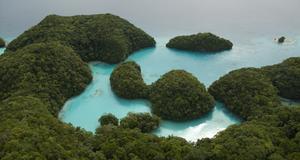 Rock Islands i Palau är ett av jordens nya världsarv.