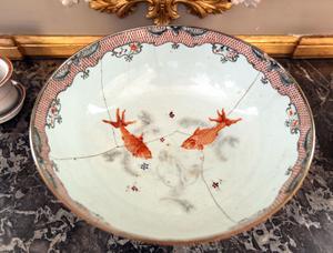 Kinesisk fiskskål blev en bålskål i Sverige.