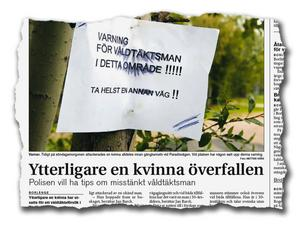 Ur Borlänge Tidning den 4 oktober 2006.