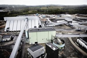 Malmen från nya Stollbergsgruvan kommer att anrikas i Garpenberg