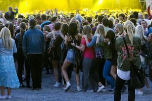 Bilden är från Gatufesten 2013. Foto: Robin Nordlund/Arkiv