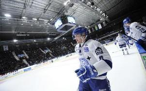 Patrik Hersley satte kvitteringen med en dryg minut kvar. Foto: Erik Mårtensson / TT