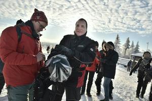 Statsminister Stefan Löfven (S) besökte länet förra veckan.