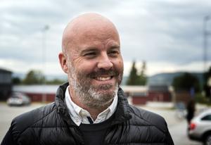 Johan Strömqvist, idrottsstrateg på Örnsköldsviks kommun Bild: Peter Forssell