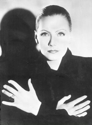 Greta Garbo i början av sin karriär i USA