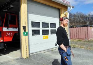 Lågt att stjäla från en brandstation som är till för att hjälpa alla, anser styrkeledare Niklas Holmedahl.