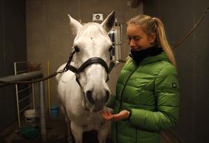 Ronja frans med sin ponny Frosty Rebel var en av fyra som gick vidare från seminfinalen till Sweden International Horse Show.