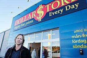 Dollarstores ägare Peter Ahlberg.