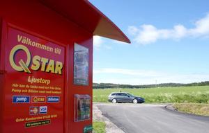 ByMacken Ljustorps ekonomiska förening hyr ut sin anläggning till Qstar som levererar bränslet.