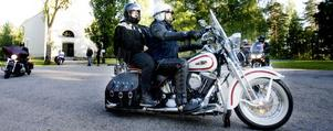Det var en avslappnad mässa som bjöds motorcyklisterna.