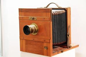 Här är en av Börje Arvdals gamla kameror.