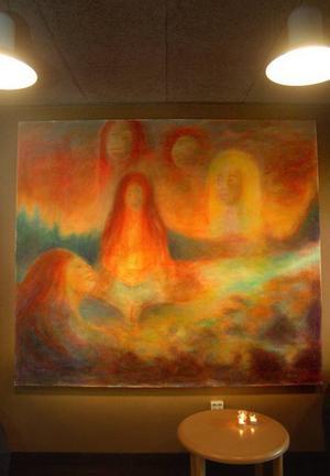 På Hotell Nordica går det att beskåda Marin Hemmingssons målning