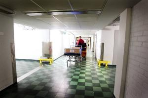 Transporter. Sjukhuset är som ett eget litet samhälle – och i kulvertarna under jord arbetar de som ser till att samhället fungerar. Förser det med varor, tömmer det på sopor, sköter om och transporterar allt som behöver fraktas från ett ställe till ett annat.