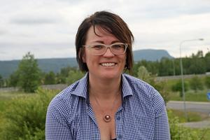 Malin Lindström i Handel Sollefteå gläds över det stora restaurangutbudet i Sollefteå.