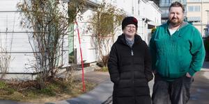 I början av 2017 lämnar Barbro och Maciej Sas Stockholm för att flytta till sitt radhus i Tältet-området.