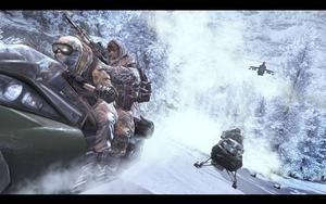 Modern Warfare 2. Tvåa på topplistan 2010.