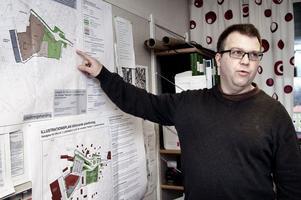 Christer Dahlenlund riktar nu öppen kritik mot de beräkningar som ligger till grund för dagens trafiklösning i Medskog.