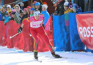 Emma Thalin, här i sin kanske sista tävling i Svegsdressen i Brukvallarnas säsongsfinal, har bytt till Hudiksvall.