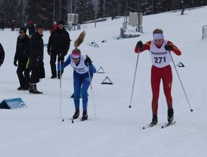 Matilda Bäck, Svegs IK, kunde genom en fjärde och en femteplats säkra sitt deltagande i J/H-laget under ICA-Cup som avgörs i Ulricehamn.