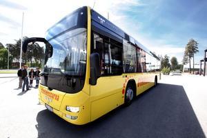 Ökade turer. Kommunen satsar nu 1,3 miljoner extra för att öka turtätheten på busslinje 95 som går mellan centrala Gävle och Norrlandet. Syftet är att fler på Norrlandet ska kunna pendla kollektivt.