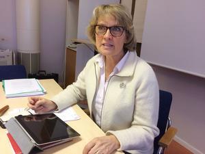 Kommunalrådet Maria Söderberg, (C), leder ett Krokom som har kontroll på sin ekonomi, men där utmaningarna kommer tillta de närmaste åren.