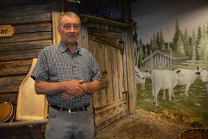 Bengt Larsson, intresserad expert av floran vid Granbodåsen.