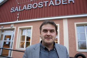 Bernard Niglis, vd på Salabostäder. Foto: Hans Godén