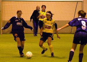 Fotbollshallen i Andersberg.