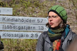 Stort reservat. Kindla är länets största naturreservat med Bergslagsnatur och Kajsa Grebäck engagerad i naturskyddsföreningen Nora bland annat.