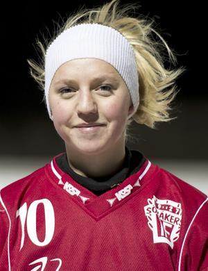 Sandra Timan under sin tid i Söråker.