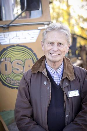 Det har tagit Lasse Larsson, som till vardags driver Skogstekniska skolan i Alfta, över ett halvår att samla alla maskiner.