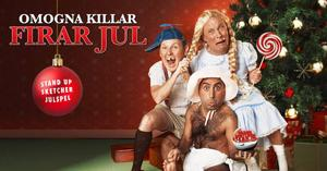 Affischen för julversionen.