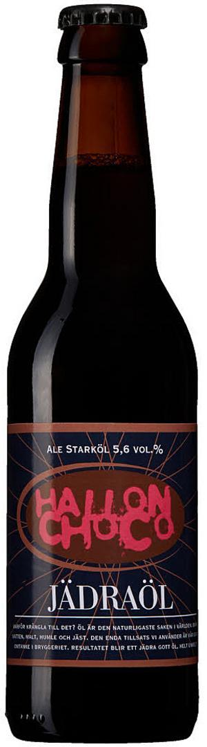 Jädraöl Hallonchoco är en god sommaröl med tydlig hallonarom tillsammans med stråk av choklad.