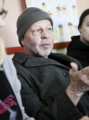 PO Andersson, musik- och dramalärare på Slottegymnasiet.