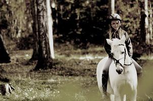 En underbar höstdag med bästa Maya Blomqvist och den vackra ponnyn Borris Misty!