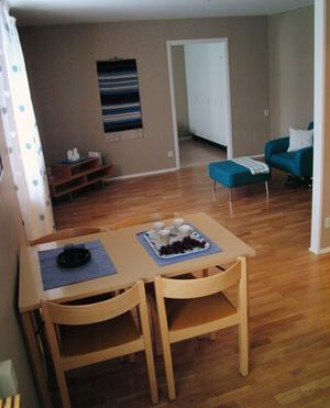 Det nya trygghetsboendets lägenheter har spritt ny inredningFoto: Ingvar Ericsson