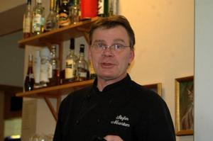Motor. Medlemmen i Säters MK och Krögaren Stefan Newstam, golfrestaurangen i Säter är mycket nöjd med föreningens samarbete med Riksidrottsförbundet.