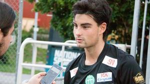 Diego Montiel i VSK-tröjan.