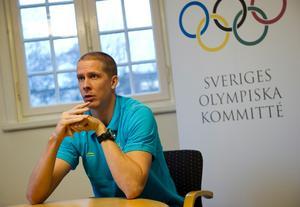 Det blir inget nytt OS för Christian Olsson.
