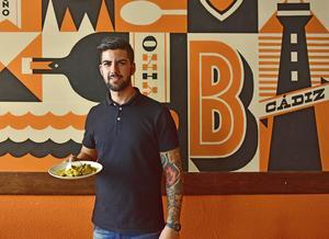 Lunchen är serverad på restaurang La Bocana i Cádiz.   Foto: Anders Pihl
