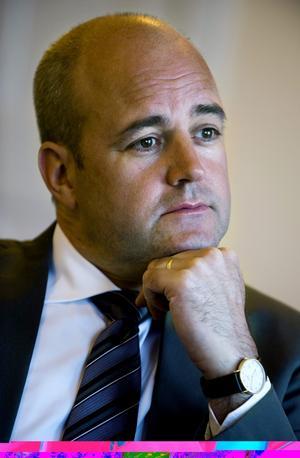 Tänker på framtiden. Statsminister Fredrik Reinfeldt ska leda Alliansens framtidskommission.  foto: Scanpix