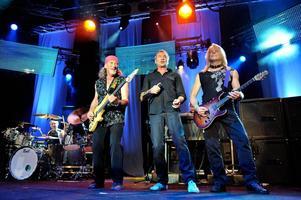 Deep Purple under en tidigare turné.