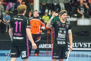Rasmus Enström bröt IBF:s måltorka med sitt reduceringsmål.