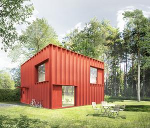 Drömhuset.  Hemnet har tillsammans med arkitektkontoret Tham & Videgård samlat information svenskarnas drömvilla – och så här ser den ut.
