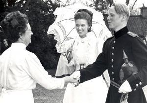 Maj Westerdahl med dottern Caroline Rinman, Henrik Larsén.